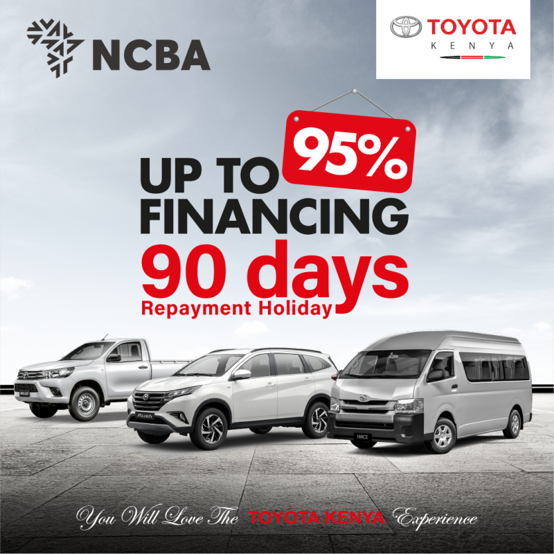 Toyota-NCBA Finance Partnerships