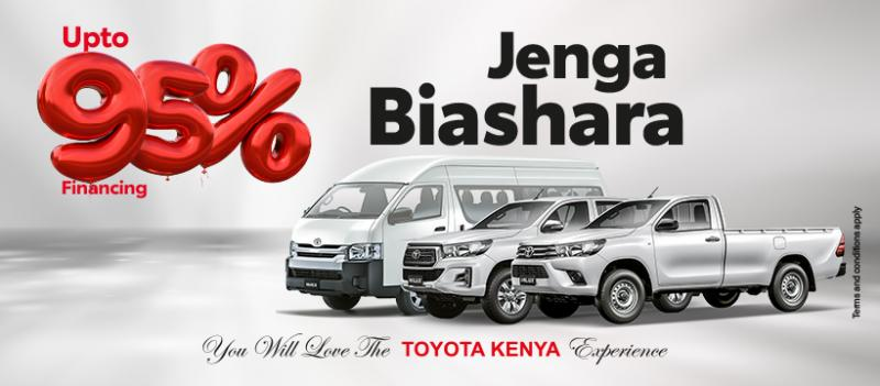 Co-operative Toyota  Bank Financing