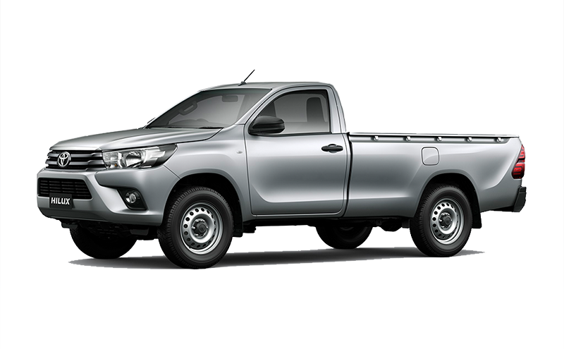 2.4GD Comfort Single Cab 6-MT 4x4