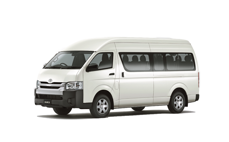 2.5L Bus High roof 14-Seats A/C