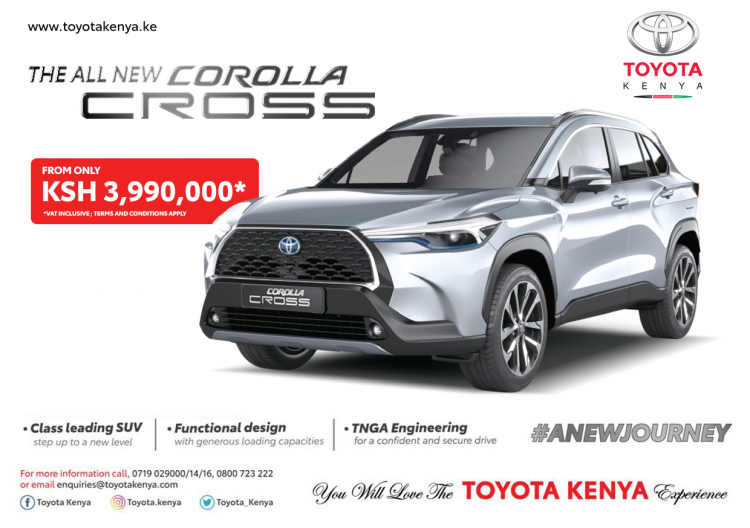 COROLLA CROSS PROMO